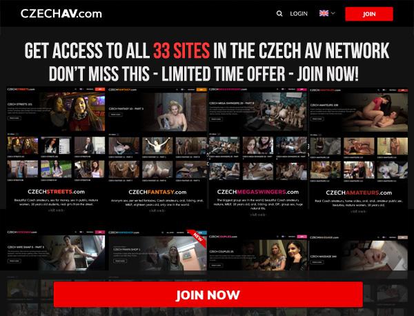 Czech AV Discount Login