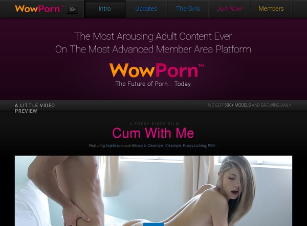 Free Login For Wowporn