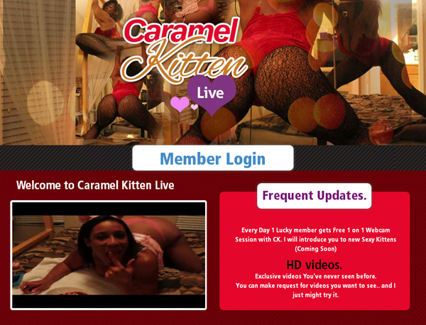Free Working Caramelkittenlive.com Accounts