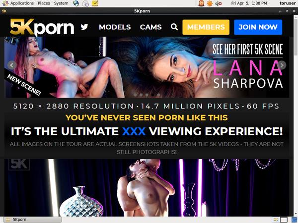 5kporn Promo Code