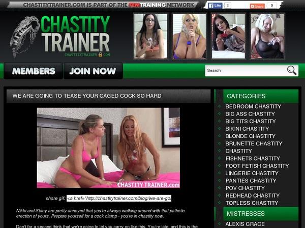 Chastitytrainer Premium Account Login