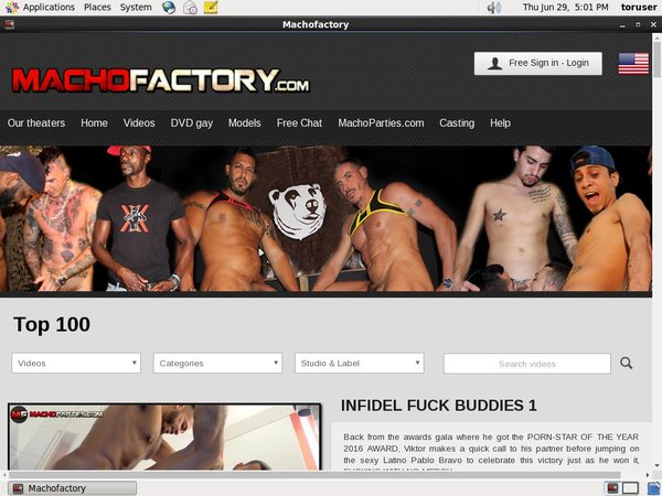 Macho Factory Epoch Paypal