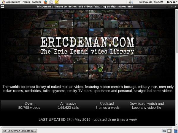 Eric Deman Review Site