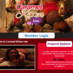 Caramel Kitten Live Pay Using