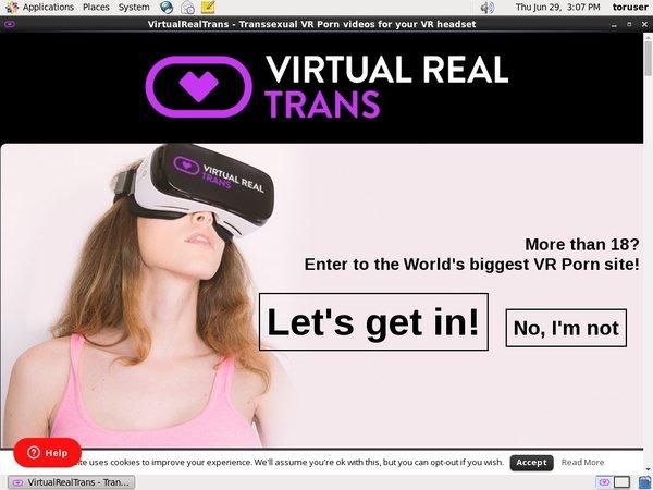 Virtualrealtrans.com Working Passwords