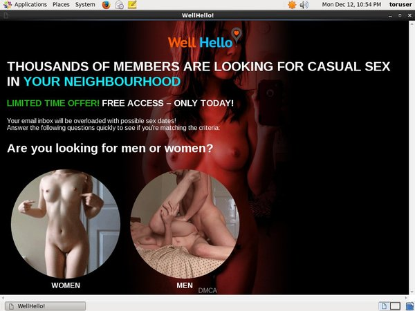 Well Hello Trial Membership $1