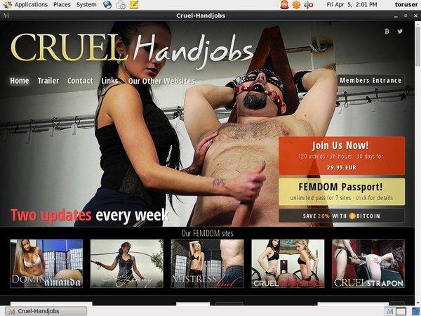 Cruel-handjobs.com Membership Trials